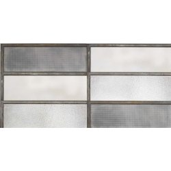 Placari & Pardoseli Faianta Diesel living Industrial Glass 60x20cm, 7mm, Steel