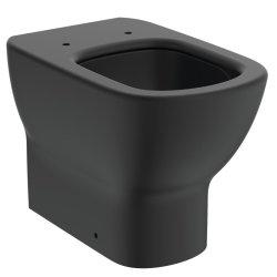 Vase WC Vas WC Ideal Standard Tesi AquaBlade back-to-wall pentru rezervor ingropat, negru mat