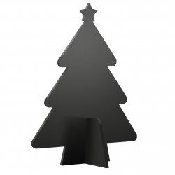 Produse Noi Tabla de scris Securit Silhouette 3D Tree 22x14x4cm, include 3 markere creta, negru
