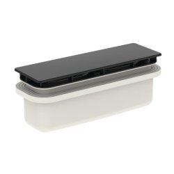 Sifon cadita de dus Ideal Standard Ultra Flat New, negru mat