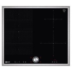 Plita cu inductie incorporabila Neff Line T56BT50N0 60cm, 4 zone, FlexInduction, rama inox