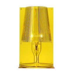 Iluminat electric Veioza Kartell Take design Ferruccio Laviani, E14 max 28W, h30cm, galben transparent