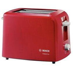 Electrocasnice mici Toaster Bosch TAT 3A014 980W 2 felii, rosu
