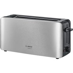Electrocasnice mici Prajitor de paine Bosch TAT6A803 ComfortLine LongSlot, inox