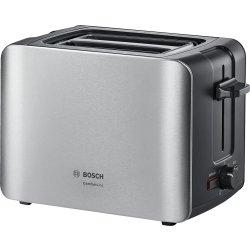 Electrocasnice mici Prajitor de paine Bosch TAT6A913 ComfortLine, inox