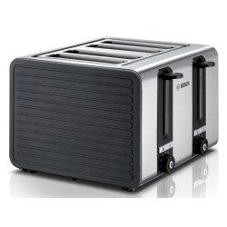 Electrocasnice mici Prajitor de paine Bosch TAT7S45, 4 felii, grafit