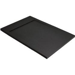 Default Category SensoDays Cadita dus dreptunghiulara slim Radaway Teos F 100x80x4cm, marmura, negru