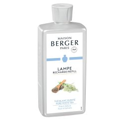 Parfumuri lampi catalitice Parfum pentru lampa catalitica Berger Pure White Tea 500ml
