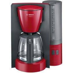 Electrocasnice mici Cafetiera Bosch TKA6A044 ComfortLine, 1.25 litri, 1200W, rosu - antracit
