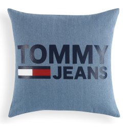 Textile decorative Perna decorativa Tommy Jeans TJ Logo 40x40cm, albastru denim