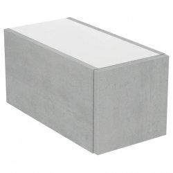 Dulapuri baie suspendate Dulap suspendat Ideal Standard Adapto cu un sertar, 25x50x24.5cm, gri
