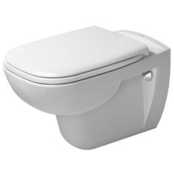 Default Category SensoDays Set vas WC suspendat Duravit D-Code 54.5 cm si capac inchidere lenta