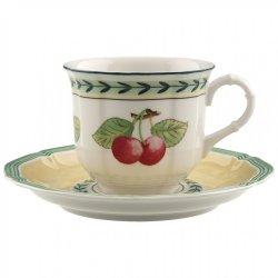 Ceasca si farfuriuta cafea Villeroy & Boch French Garden Fleurence 0.20 litri
