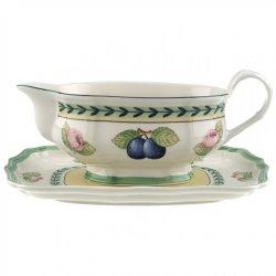 Sosiere Sosiera cu farfuriuta Villeroy & Boch French Garden Fleurence 0.40 litri