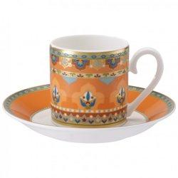 Ceasca si farfuriuta espresso Villeroy & Boch Samarkand Mandarin