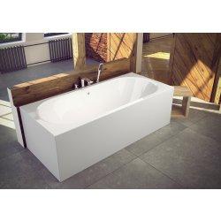 Cada baie rectangulara Besco Vitae 160x75cm, acril