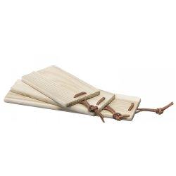 Default Category SensoDays Set 3 tocatoare lemn LSA International Borough Trio 17cm, 22.5cm, 30cm