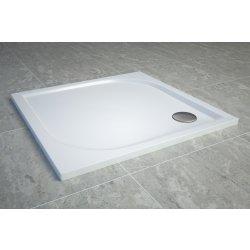 Default Category SensoDays Cadita de dus SanSwiss Tracy WAQ, 80x80cm slim, marmura sintetica, alb