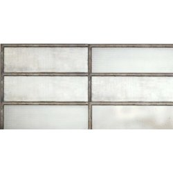 Placari & Pardoseli Faianta Diesel living Industrial Glass 60x20cm, 7mm, White