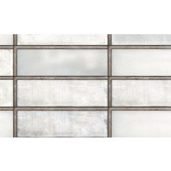 Placari & Pardoseli Faianta Diesel living Industrial Glass 10x30cm, 7mm, White
