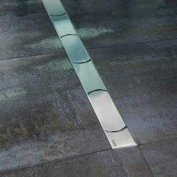 Accesorii montaj Rigola de dus Ravak Concept Chrome OZ 105cm inox