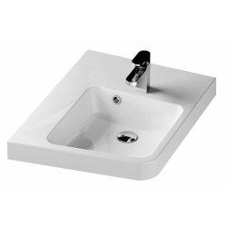 Lavoare baie Lavoar de colt Ravak BeHappy II 50x66.5cm, stanga, alb