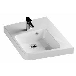 Lavoare baie Lavoar de colt Ravak BeHappy II 50x66.5cm, dreapta, alb