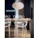 Suspensie Kartell Bloom design Ferruccio Laviani, G9 max 3x33W, d28cm, lavanda