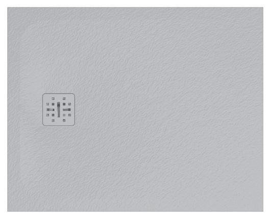 Cadita de dus dreptunghiulara Globo Docciapietra 80x100x3cm sifon inclus imagine