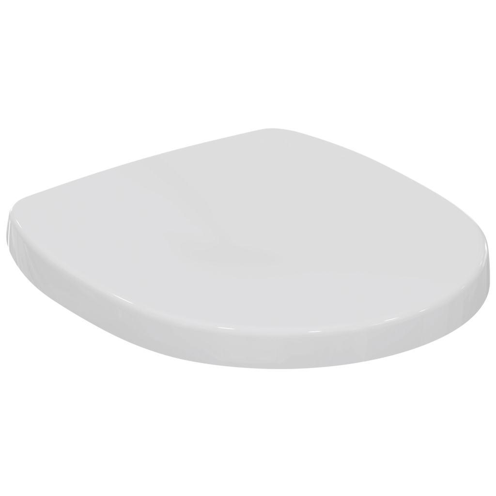 Capac WC Ideal Standard Connect Space Compact cu inchidere lenta imagine