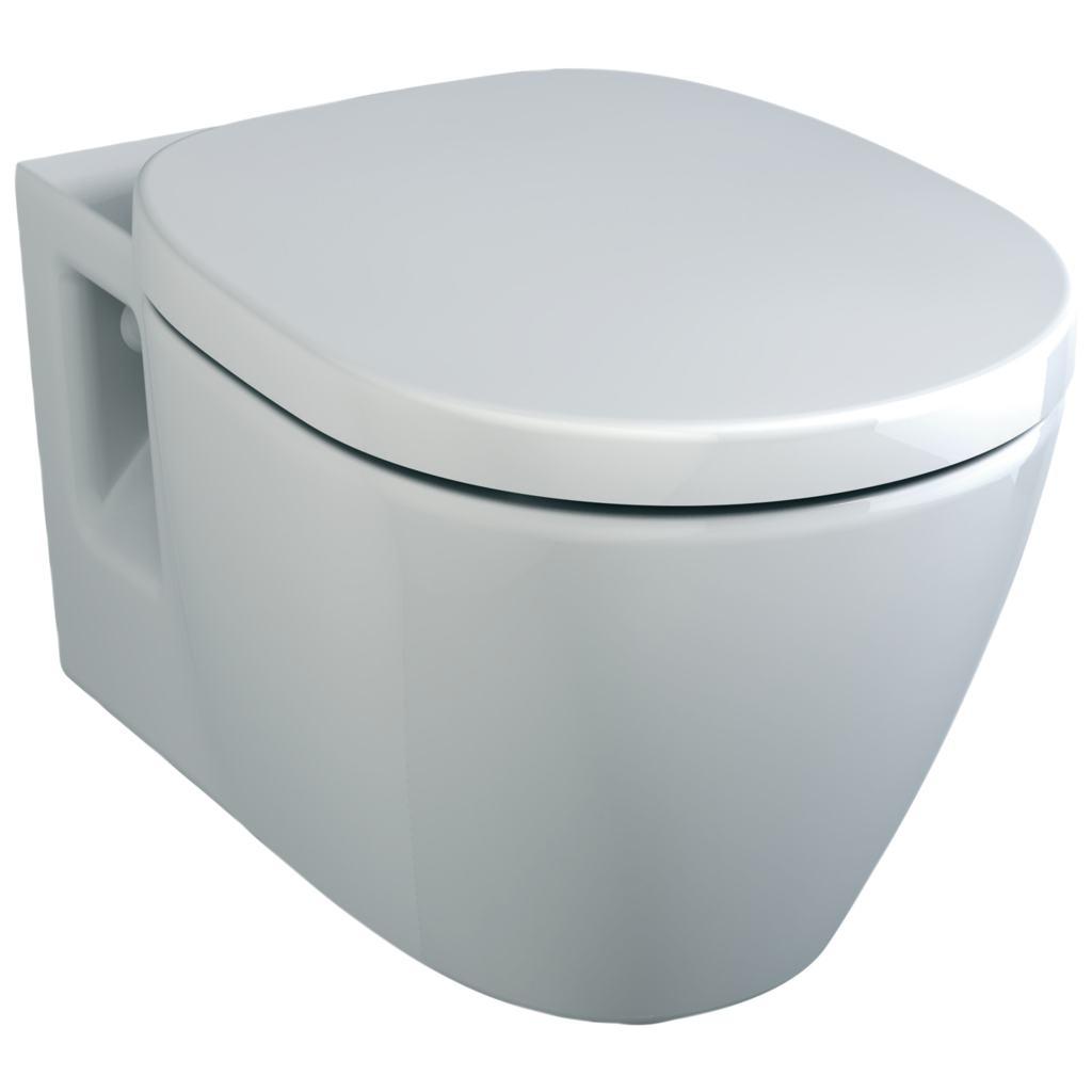 Set vas WC suspendat Ideal Standard Connect cu capac inchidere lenta imagine