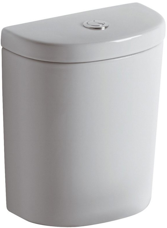 Rezervor Ideal Standard Connect Arc cu dubla actionare pentru vas wc de pardoseala White imagine