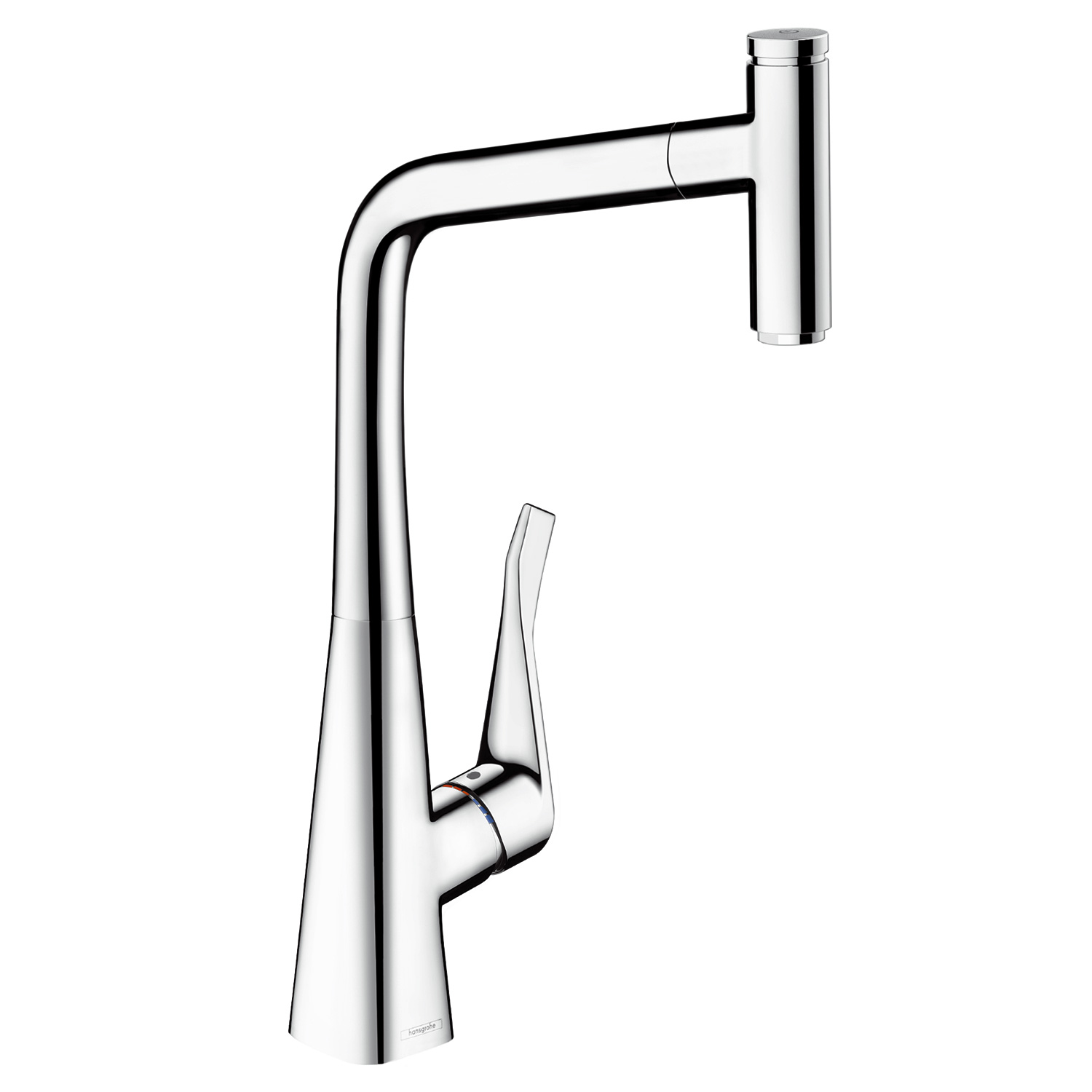 Baterie Bucatarie Hansgrohe Metris Select 320 Dus Extractibil