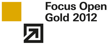Focus Open Gold 2012 Award