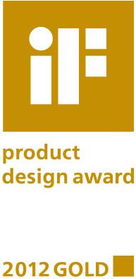 IF Product Design Award 2012 Gold