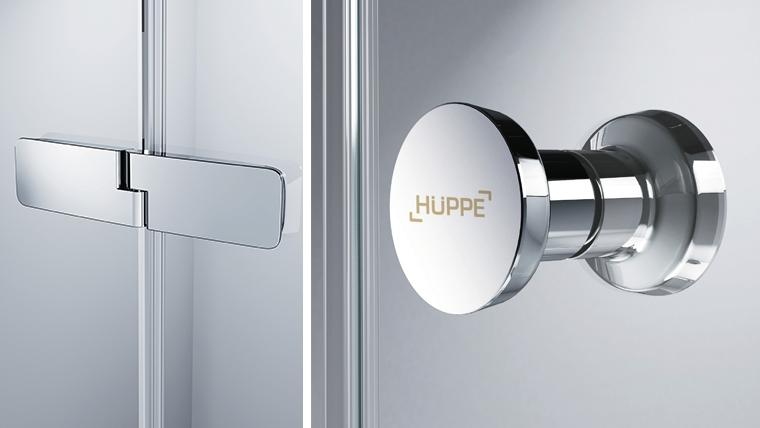Maner metalic pentru cabina de dus Huppe