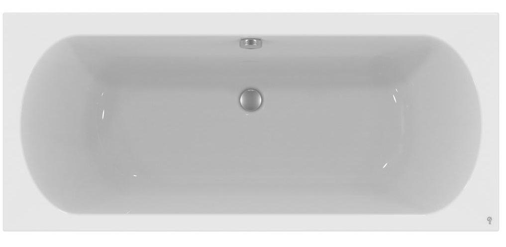 Cada baie rectangulara Ideal Standard Hotline Duo 170x75cm acril imagine