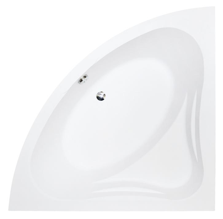 Cada baie de colt Besco Mia 130x130cm acril imagine