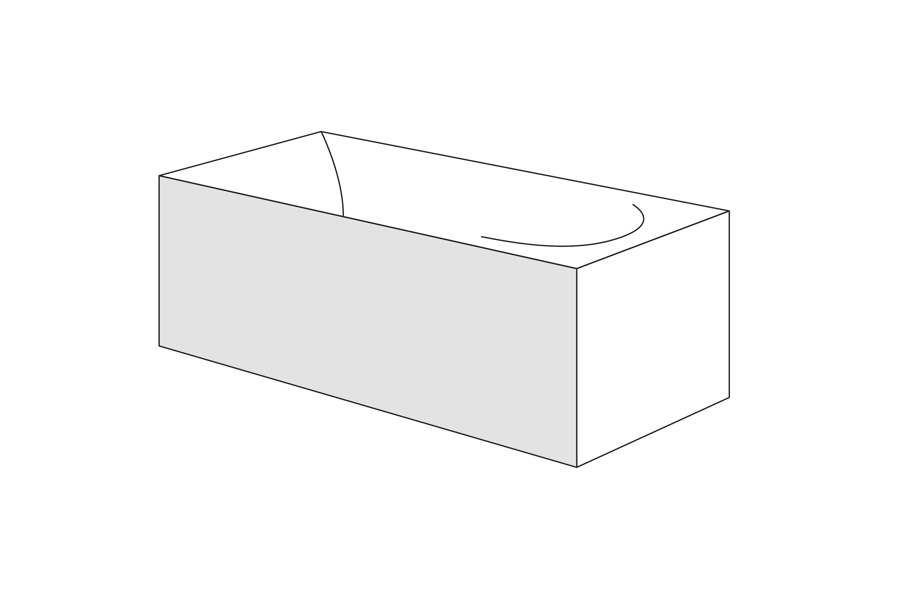 Panou frontal Radaway pentru cazi rectangulare 170cm h58cm imagine
