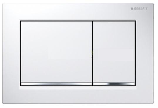 Clapeta actionare Geberit Sigma30 alb /crom lucios imagine