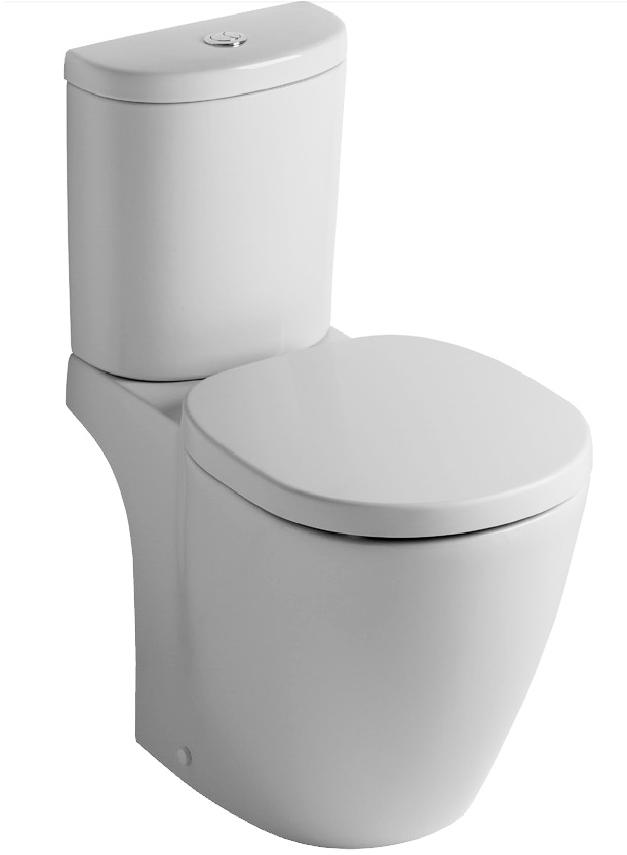 Set complet vas WC Ideal Standard Connect Arc cu rezervor si capac imagine