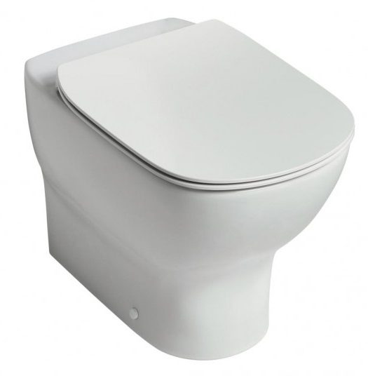 Vas WC Ideal Standard Tesi AquaBlade back-to-wall pentru rezervor ingropat imagine