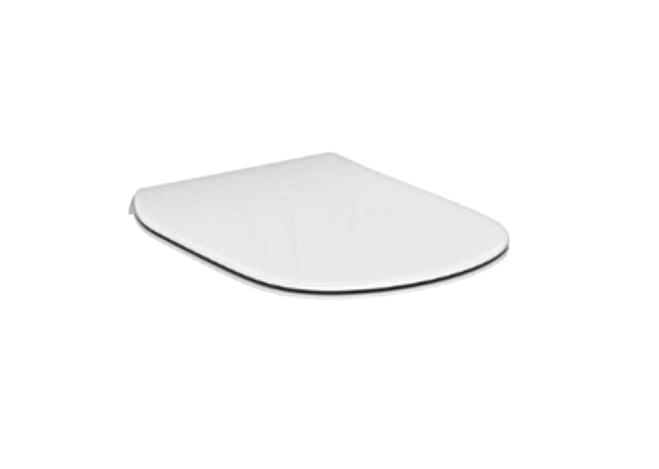 Capac WC Ideal Standard Tesi slim cu inchidere lenta imagine