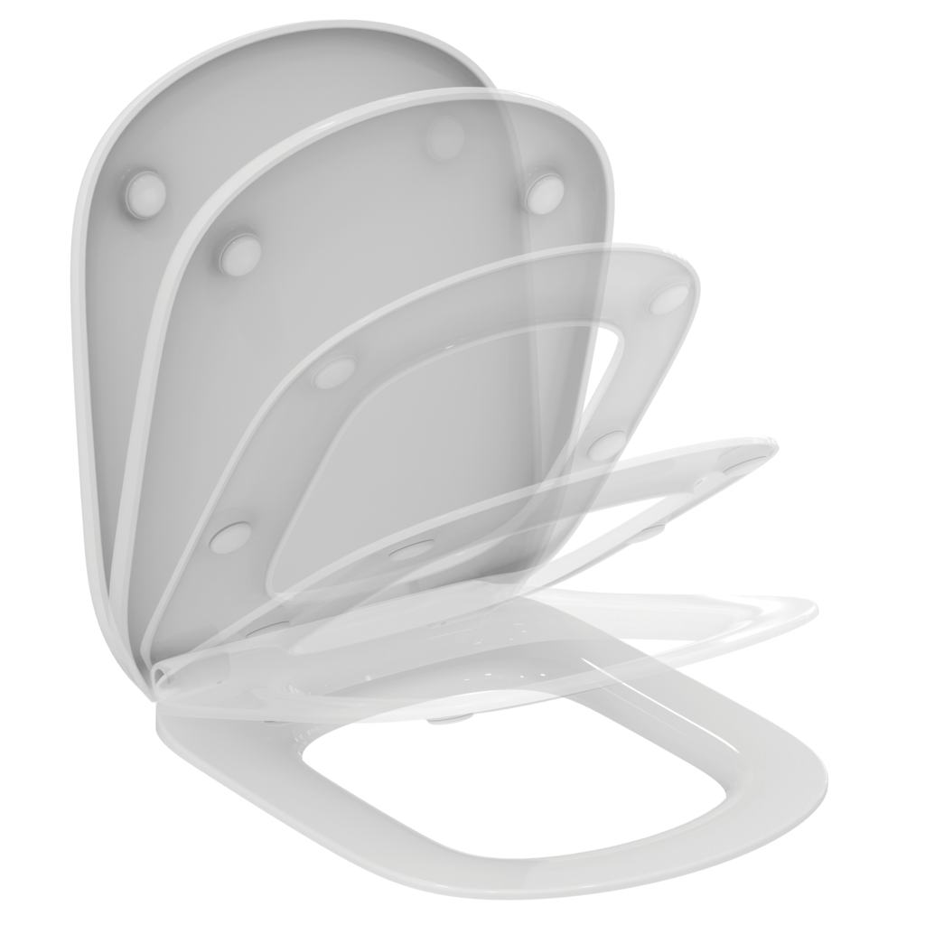 Capac WC Ideal Standard Tesi cu inchidere lenta imagine