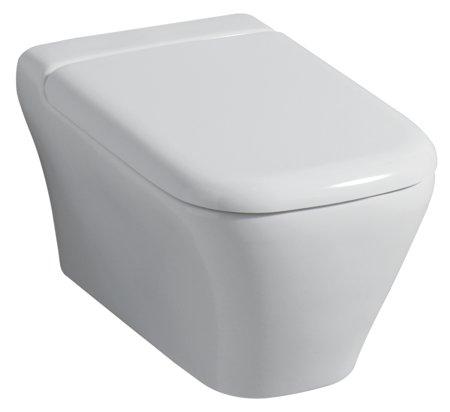 Set vas WC suspendat Keramag Myday cu capac inchidere lenta EXPUS imagine