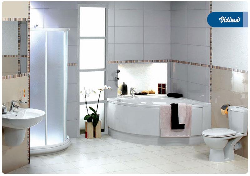 Baie cu obiecte sanitare Vidima
