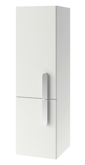 Dulap inalt tip coloana Ravak Concept Chrome SB 350 cu doua usi dreapta 35x37x120cm alb imagine