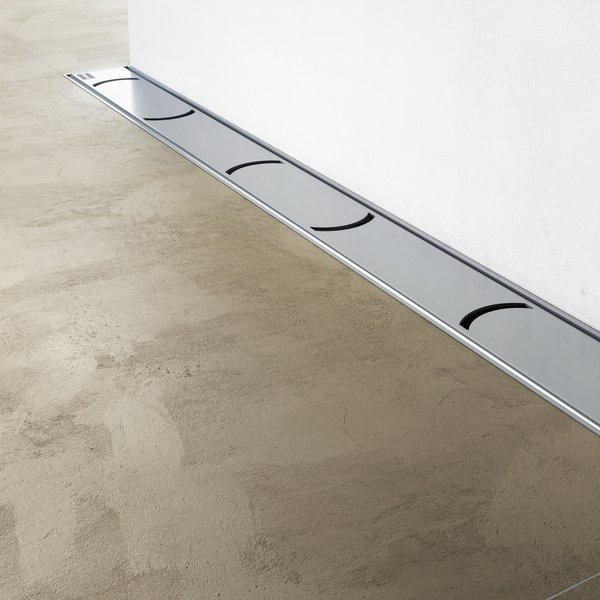Rigola de dus Ravak Concept Chrome OZW 75cm inox imagine