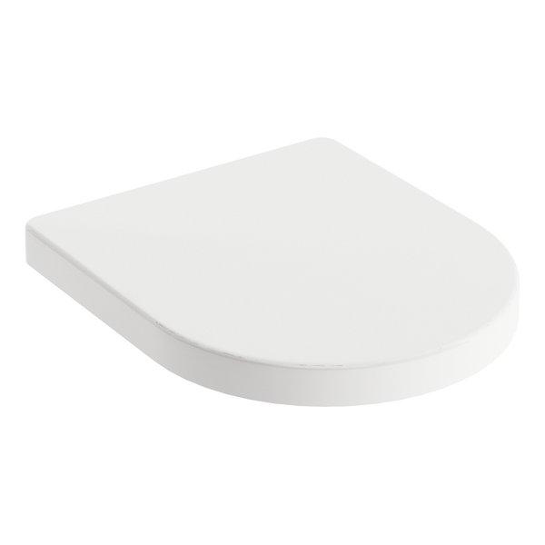Capac WC Ravak Concept Chrome cu inchidere lenta pentru vas WC RimOff imagine