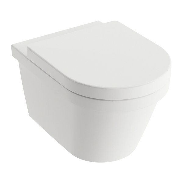 Vas WC suspendat Ravak Concept Chrome RimOff 36x52.5x35cm imagine